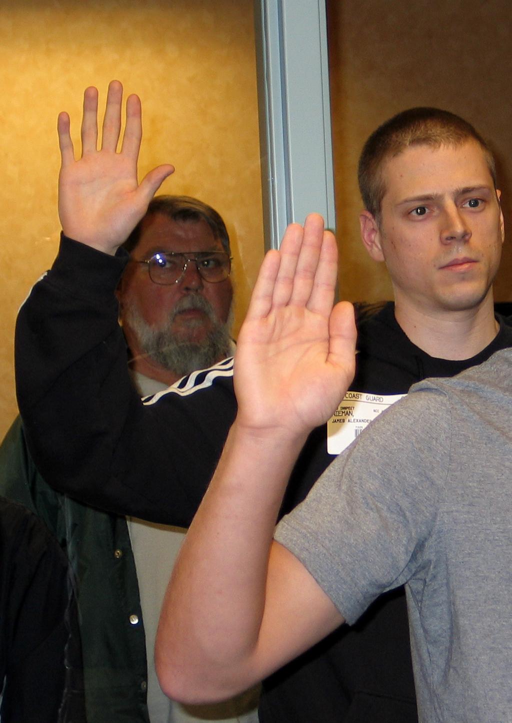 Taking the oath #3